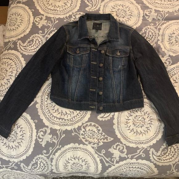 Jessica Simpson classic denim Jean jacket